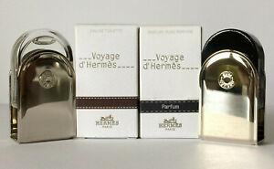 HERMES Voyage d' Hermès PURE PARFUM 5 ml & Eau de Toilette 5 ml OVP HERMÈS
