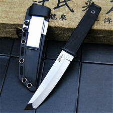 239# Cold Steel Outdoor Tactical Hunting Fixed Blade Knife Plastic Handle&Sheath