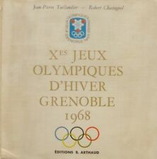 Xes Jeux Olympiques d'Hiver Grenoble 1968 - Jeam pierre Taillandier -Chastagnol