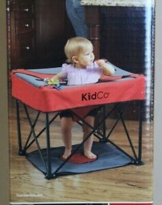 Kidco Go Pod Toddler Baby Activity Seat station Red 4 mo+ 12 to 26 lbs Unopened