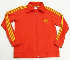 Men's Vintage ADIDAS Trefoil Spain Colors  Warm Up Track Jacket XL