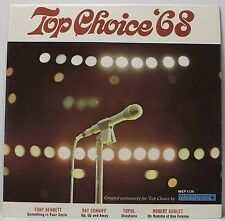 """TOP CHOICE 68 EP Tony Bennett Ray Coniff Topol 7"""" Picture Sleeve 45rpm Vinyl VG+"""