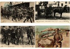 MILITAIRE  MILITARY GUERRE ENGLISH ARMY IN FRANCE WWI 52 CPA