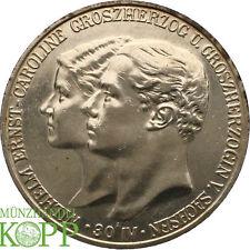 Aa2183) j.159 Sassonia-Weimar-Eisenach 5 Mark 1903 a-Wilhelm Ernst 1901-1918