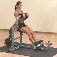 Body Solid Cam Series AB Bench & Back Gym Exercise Machine GCAB-360