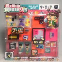 Mattel My Mini MixieQ's Neon Arcade Playset Mystery Figure Dance Floor Lights