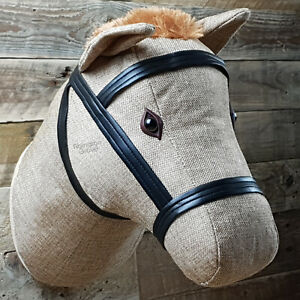 Large Wall Mounted Fabric Horse Head Childrens Bedroom Hanging Decor Kids Room
