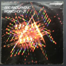 BBC Radiophonic Workshop - 21 TV Soundtracks OST LP 1979 DR WHO quatermass Tardis
