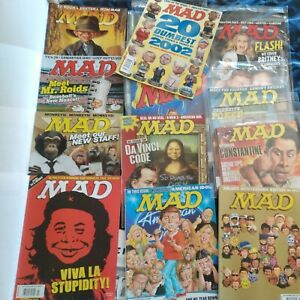 Mad Magazine Issues from 421 - 500 Years 2003 - 2008 Collectors Save Big