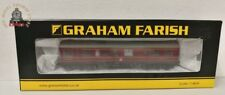 Graham Farish 374-875 LMS 50ft Inspection Saloon LMS Lined Crimson Lake