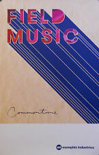 FIELD MUSIC, COMMONTIME POSTER (J2)