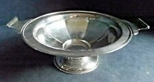 "SUPERB Large 11"" ~ SILVER Plated ~ Snack / Fruit BOWL ~ c1930 by Martin Hall"