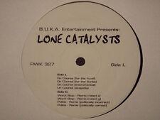 "LONE CATALYSTS + J-LIVE - ON COURSE / WON'T STOP (REMIX) (12"")  2001!!!  RARE!!!"