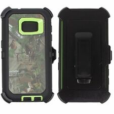 Samsung Galaxy S7 Heavy Duty Rugged Defender Case Screen & Holster Fit Otterbox
