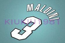 AC Milan Maldini #3 1998-2000 Homekit Nameset Printing