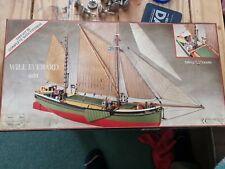 Rare Model Boat Will Everard 601