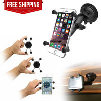 RAM Twist Lock Suction Cup Mount w/ X-Grip Holder for Small Size Phone GPS