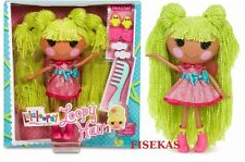 Lalaloopsy Loopy Hair Pix E. Flutters Full Size Yarn Hair Doll w/ Hair Clips NEW