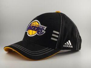 Los Angeles Lakers Hat Adidas three stripe adjustable back
