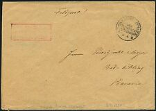 126/DP China Brief Feldpost KD Feldpostexpedition b 6/4/1901 SB Reiter-Regiment