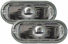 VW CADDY 2010- CRYSTAL CLEAR CHROME SIDE LIGHT REPEATER INDICATORS