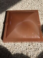 Rv Replacement Vent Lid Brown New old stock camper trailer RV