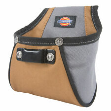Dickies Work Gear 57101 Rigid Nail/Screw Tool Belt Pouch with Tape Measure Clip