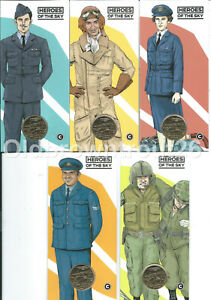 2021 $1 Heroes of the Sky Centenary of RAAF 'C' Canberra Mintmark Carded Coins