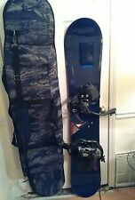 5150 Mens snowboard with 5150 bindings, 159 cm, Oakley storage /carry bag