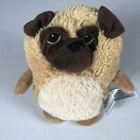 "Hooty Pug Puppy Dog Warm Microwave Aromatherapy Stuffed 10"" Beans Plush Lavender"