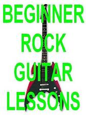 Learn Beginner Electric Rock Guitar DVD Lesson Vol. 1 Time To Wake The Neighbors