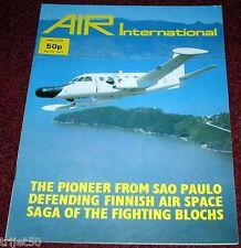 Air International 1978 April Embraer Bandeirante,Finland,Bloch