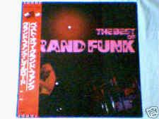 GRAND FUNK RAILROAD The best of lp JAPAN UNIQUE