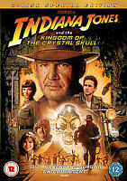 INDIANA JONES AND THE KINGDOM OF THE CRYSTAL SKULL DVD Movie Film 2 DISCS *