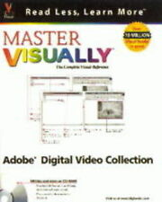 USED (GD) Master VISUALLY Adobe Photoshop, Illustrator, Premiere, and AfterEffec
