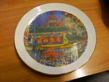 Chicago's China Town Franklin McMahon Chicago City Collection Plate 1977