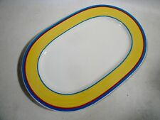 "Vtg Villeroy & Boch Germany Twist-Anna 13.5"" Serving Platter"