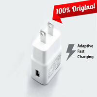 OEM Samsung Fast Charger Adapter for Note 5 4 Galaxy S7 S7 Edge S6 Verizon AT&T