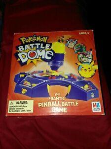 Pokemon Battle Dome Frantic Pinball Game Milton Bradley 2005 Hasbro Original Box