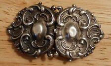 Buckle Sterling Silver Bracelet Choker Craft Antique Will Kerr Art Nouveau Belt