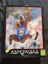 THE CARL LEWIS CHALLENGE Atari ST Game RARE