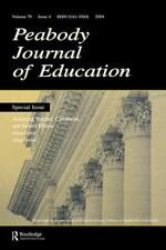 Assessing Teacher, Classroom, and School Effects : A Special Issue of the...