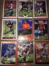 Atlanta Falcons NFL players auto autograph football card LOT Grady Jarrett +more