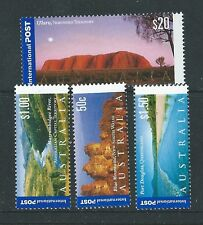 AUSTRALIA 2001 INTERNATIONAL STAMPS UNMOUNTED MINT SG.2121-24