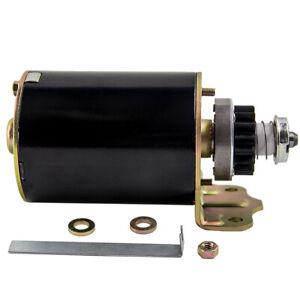 Anlasser für Briggs & Stratton 11 - 16 PS Neuteil 16 Zähne 499521 Anwurfmotor
