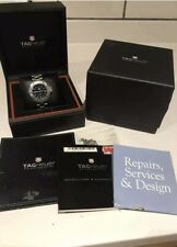 TAG HEUER Aquaracer. Men's. Navy Blue Face. Boxed, all papers. WAF1113.