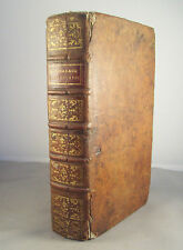 DICTIONNAIRE GEOGRAPHIQUE PORTATIF / VOSGIEN / RELIURE CUIR 1795 / 2 CARTES