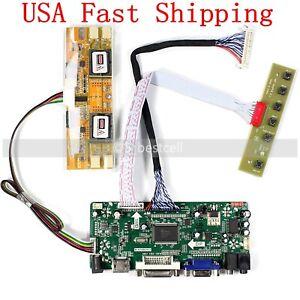 "HDMI+DVI+VGA LCD Controller Driver Board Monitor Kit for 17"" 19"" 1280X1024 30pin"