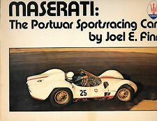 Car Book--Maserati postwar sportscar by joel Finn 1977-----258