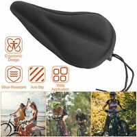 Soft Saddle Pad Cushion Cover Gel Silicone Seat For Mountain New Bike K7X1